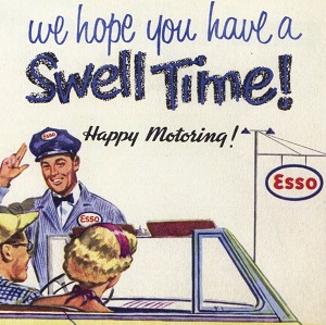 Happy Motoring Esso 1950s
