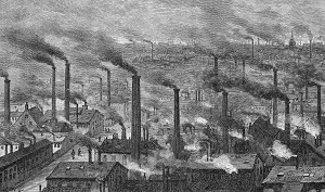 Mill Chimneys Victorian industry