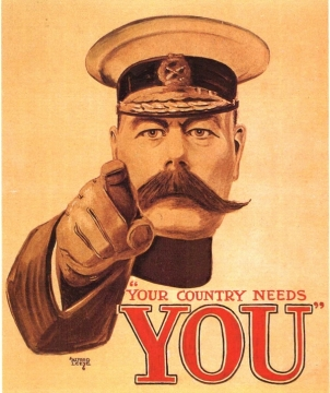 Kitechener. Your Country Needs You.