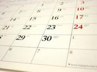 Calendar for Age of Limits meetings