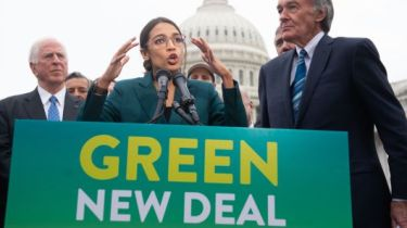 Green New Deal Alexandra Ocasio-Cortez