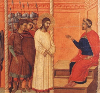 Pilate Questioning Jesus