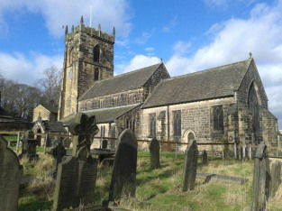 St. Wilfred Church, Calverley, Yorkshire