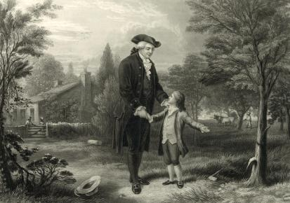 George Washington and the Cherry Tree
