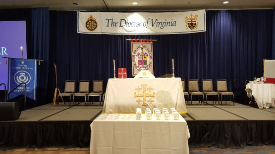 Virginia diocese 2019 convention eucharist