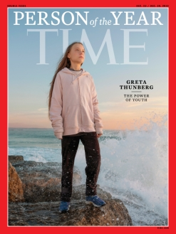 Greta Thunberg Time magazine cover 2019