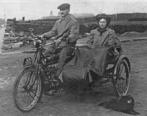 Motorcycle year 1912