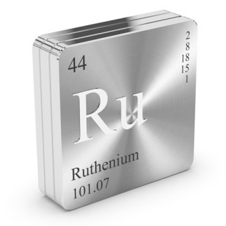 Ruthenium — Used to convert CO2 to methane