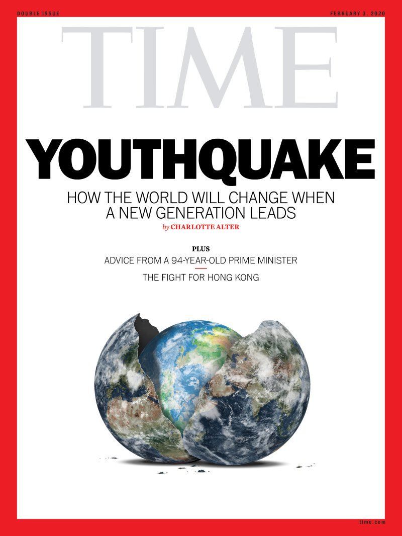 Time Youthquake Cover