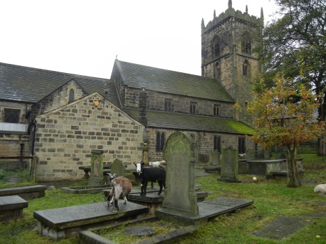 Calverley Anglican church