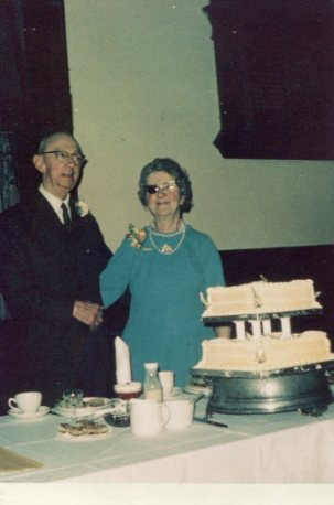 Grandfather Parker on the occasion of his Golden Wedding (50th Anniversary)