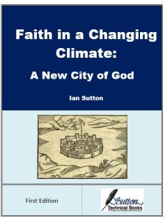 Front cover for book Faith in a Changing Climate: A New City of God