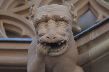 church gargoyle no mask