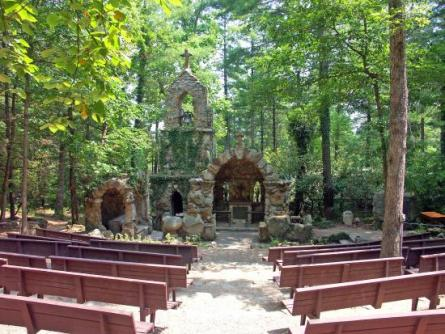 Shrinemont Virginia open air church