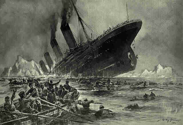 Titanic sinking represents the actions of church leaders in a world impacted by climate change.